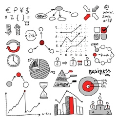 business strategy plan concept idea Infographic vector image