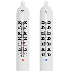 Centigrade thermometer vector image vector image