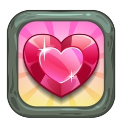 Funny cool app store game vector image vector image