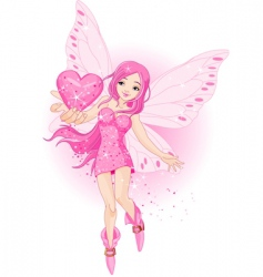 love fairy vector image