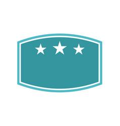 Template emblem blank best quality vector