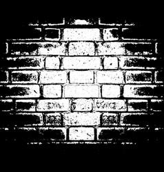 brick wall texture grunge distress overlay vector image