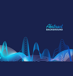 bright abstract background template with place vector image