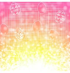 Easter Egg Holiday Background vector