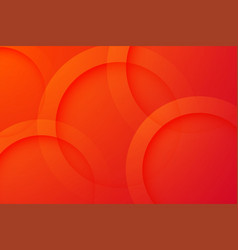 Modern red backgrounds abstract 3d circle vector