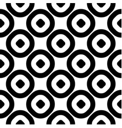 monochrome seamless pattern circles texture vector image