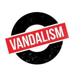 Vandalism rubber stamp vector