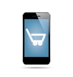 icon smartphone vector image vector image