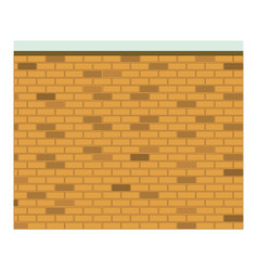 colorful image realistic brick wall seamless vector image