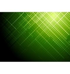 Dark green shiny tech brochure background vector