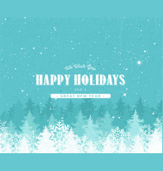holiday background with textured effect vector image
