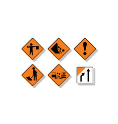 New zealand road signs vector