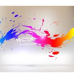 Paint Splash Background vector