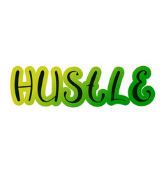 Pair dance hustle vector