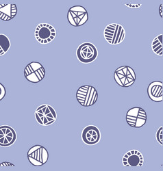 shabby geometric seamless pattern vector image