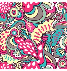 fantasy abstract seamless pattern vector image