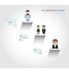 Infographic Flat Style Concept background for your vector image