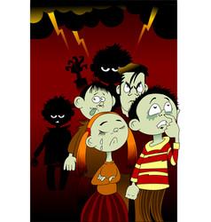 bad children vector image vector image