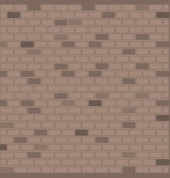 Background colorful image realistic brick wall vector