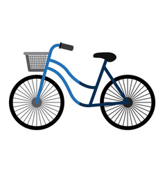 Bike of healthy lifestyle design vector