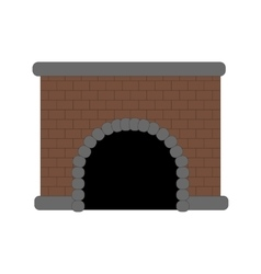 Fire place vector