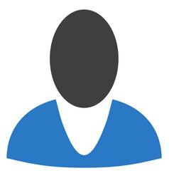 Guy profile flat icon vector