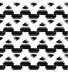Hand dryer pattern seamless vector