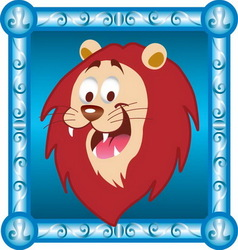 Leo cartoon vector