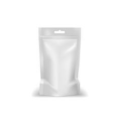Liquid cosmetics vacuum package isolated mockup vector