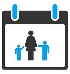 Mother Calendar Day Toolbar Icon vector image