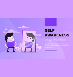 self awareness vector image