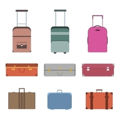 Travel Bag Set vector