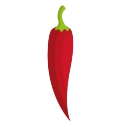 red jalapeno graphic vector image