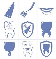 dental vector image vector image