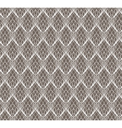 Abstract White Lace seamless pattern on dark vector image