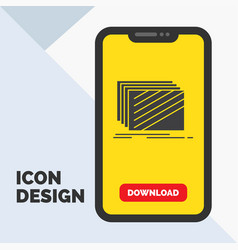 design layer layout texture textures glyph icon vector image
