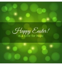 Easter card design background vector