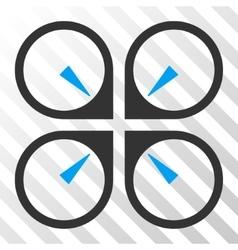 Hover Drone Eps Icon vector