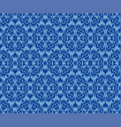 Indigo dyed textile seamless pattern original vector