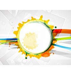 modern circle vector image