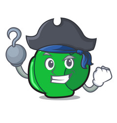 Pirate brussels character cartoon style vector