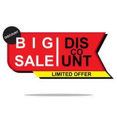 Shopping sales countdown promotional vector