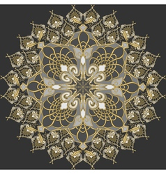 traditional vintage pattern vector image