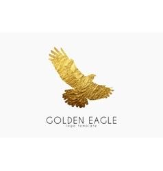 Eagle logo Golden eagle Golden bird logo vector image vector image