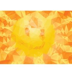 Yellow Polygonal Background2 vector image vector image