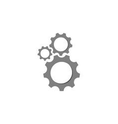 gear automotive logo vector image
