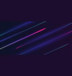high speed light effect vector image