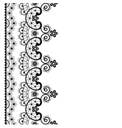 lace seamless pattern retro wedding lace vector image