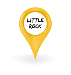 Location little rock vector