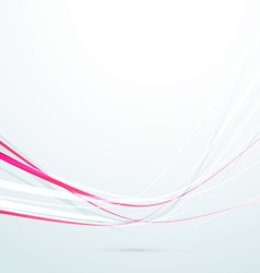 Speed red rapid swoosh lines background vector
